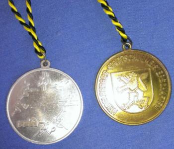 Eine Medaille ist eine Belohnung