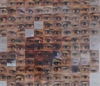 Aus der Nähe sieht man die kleinen Augen