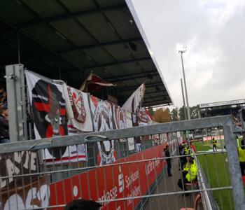Zäune im Stadion