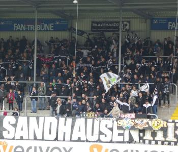 Fans von Sandhausen
