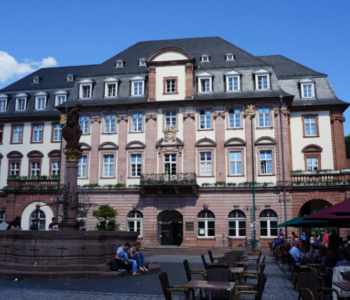 Rat·haus in Heidelberg