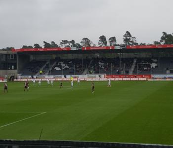 Neue Sitze im Stadion