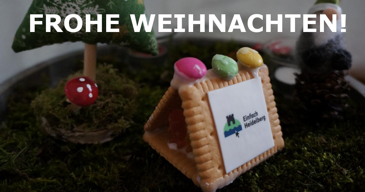 Einfach Heidelberg wünscht frohe Weihnachten