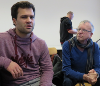 Nikolai Kornhaß in der Redaktion