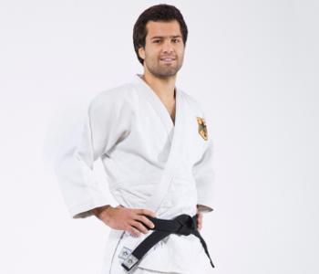 Nikolai Kornhaß im Judo·anzug