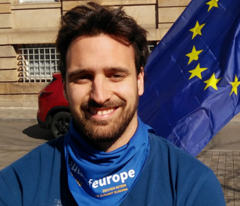 Cristian macht Pulse of Europe
