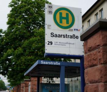 Halte·stelle Saarstraße