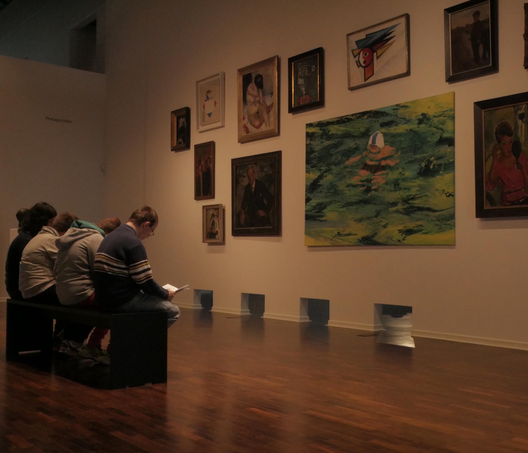 Redaktion im Museum
