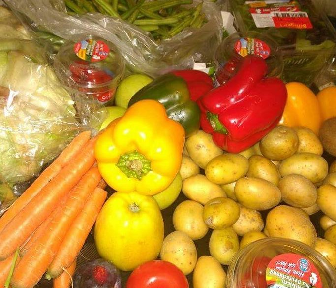 Viel Gemüse