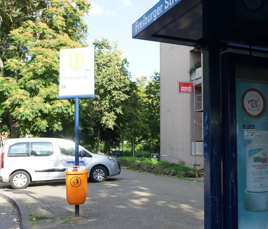 Freiburger Straße Haltestelle