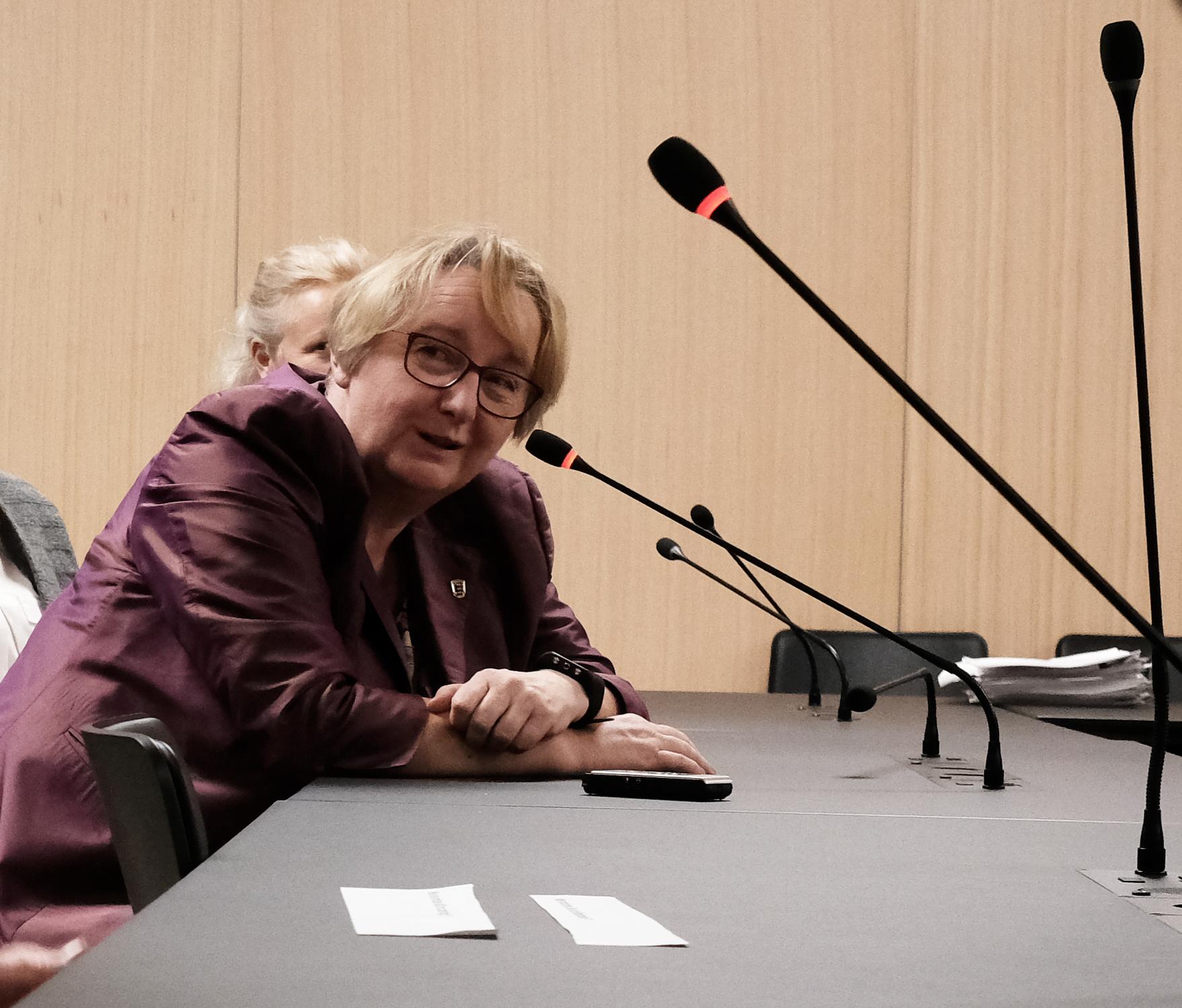 Theresia Bauer im Gespräch