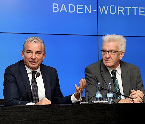 Strobl und Kretschmann