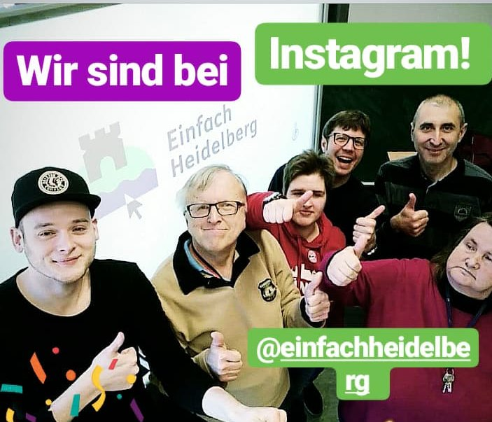 Einfach Heidelberg bei Instagram