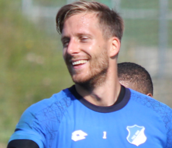Oliver Baumann beim Training
