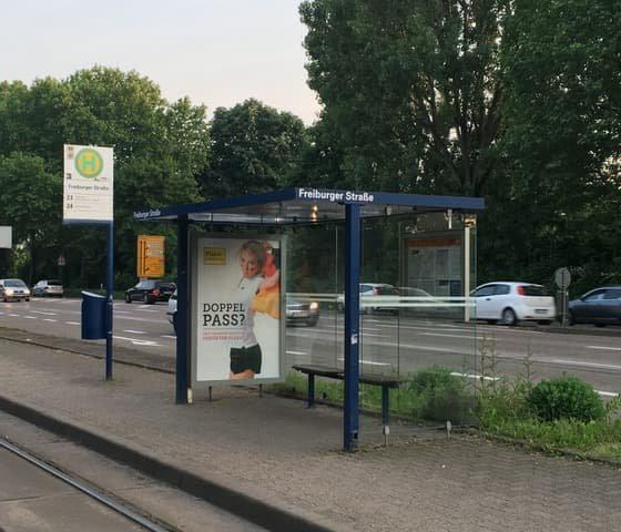 Haltestelle Freiburger Straße