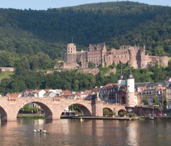Heidelberg mit Schloss