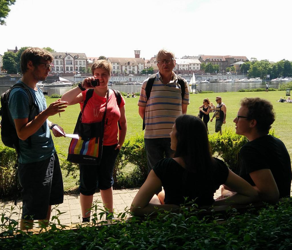Umfrage auf der Neckarwiese