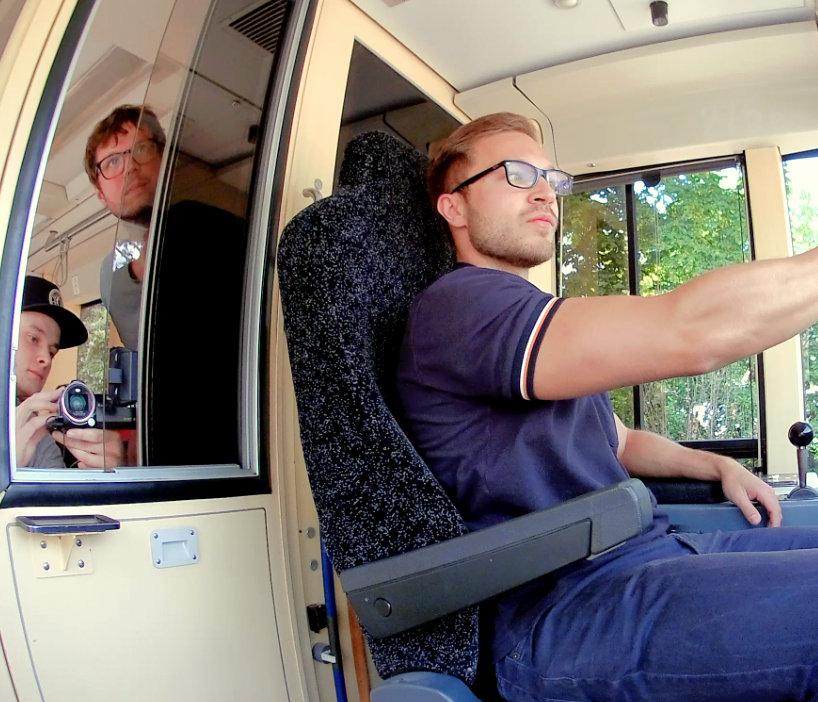 Einfach Heidelberg mit Dominik in der Bahn