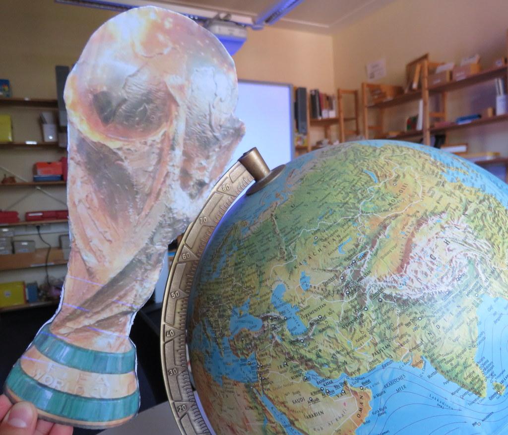 Globus und Weltpokal