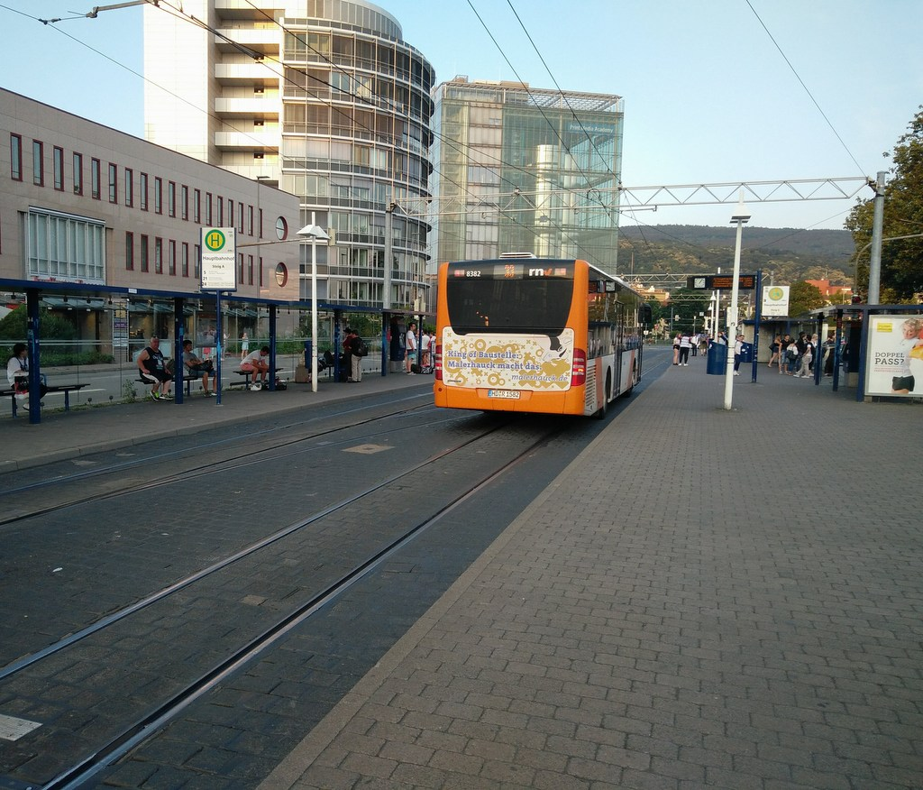 Bus in Heidelberg