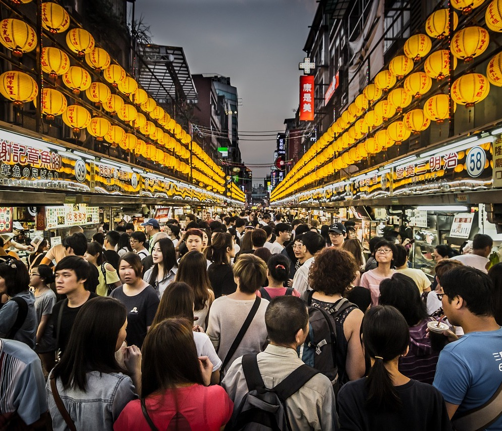 Nachtmarkt Taiwan