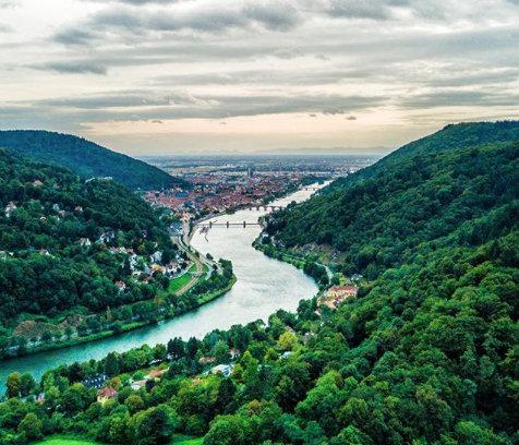 Neckar von oben