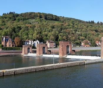 Wehr im Neckar