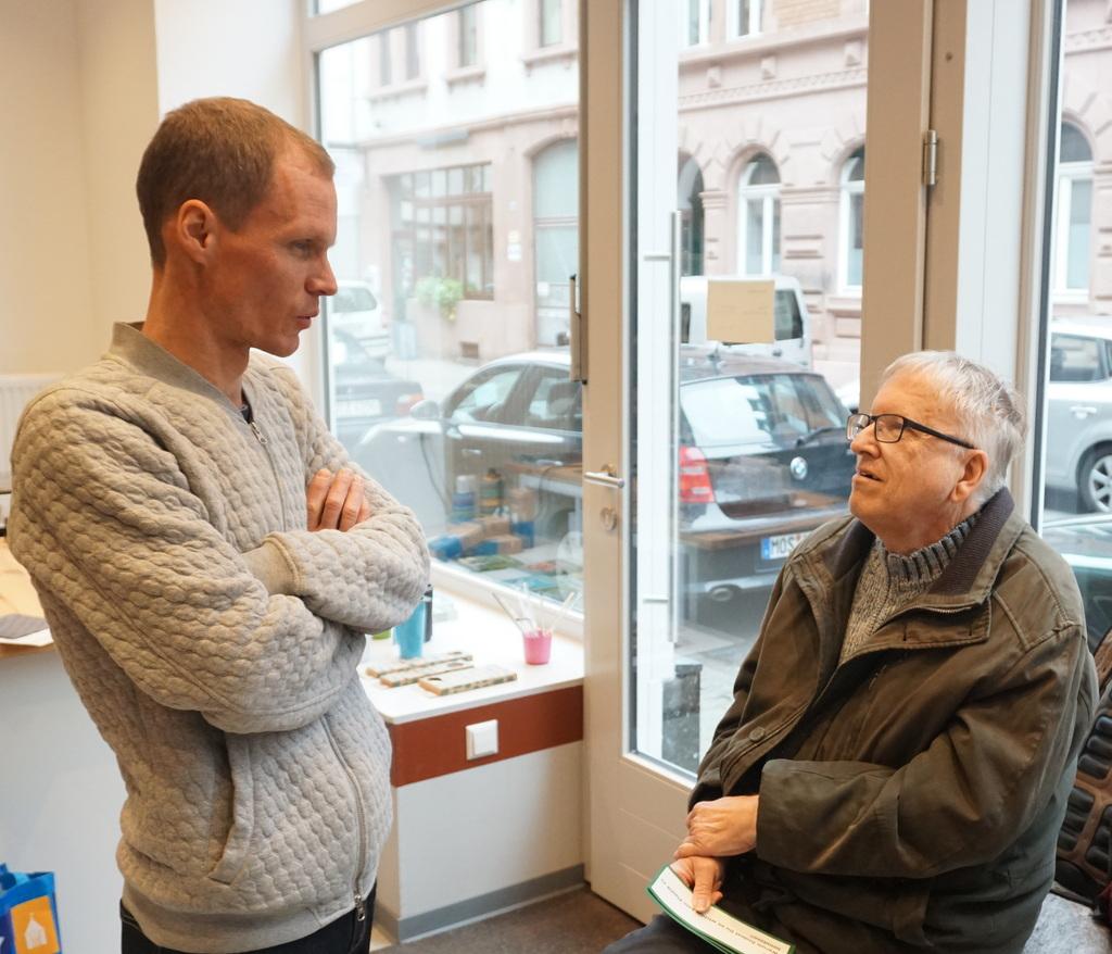 Andreas und Willi