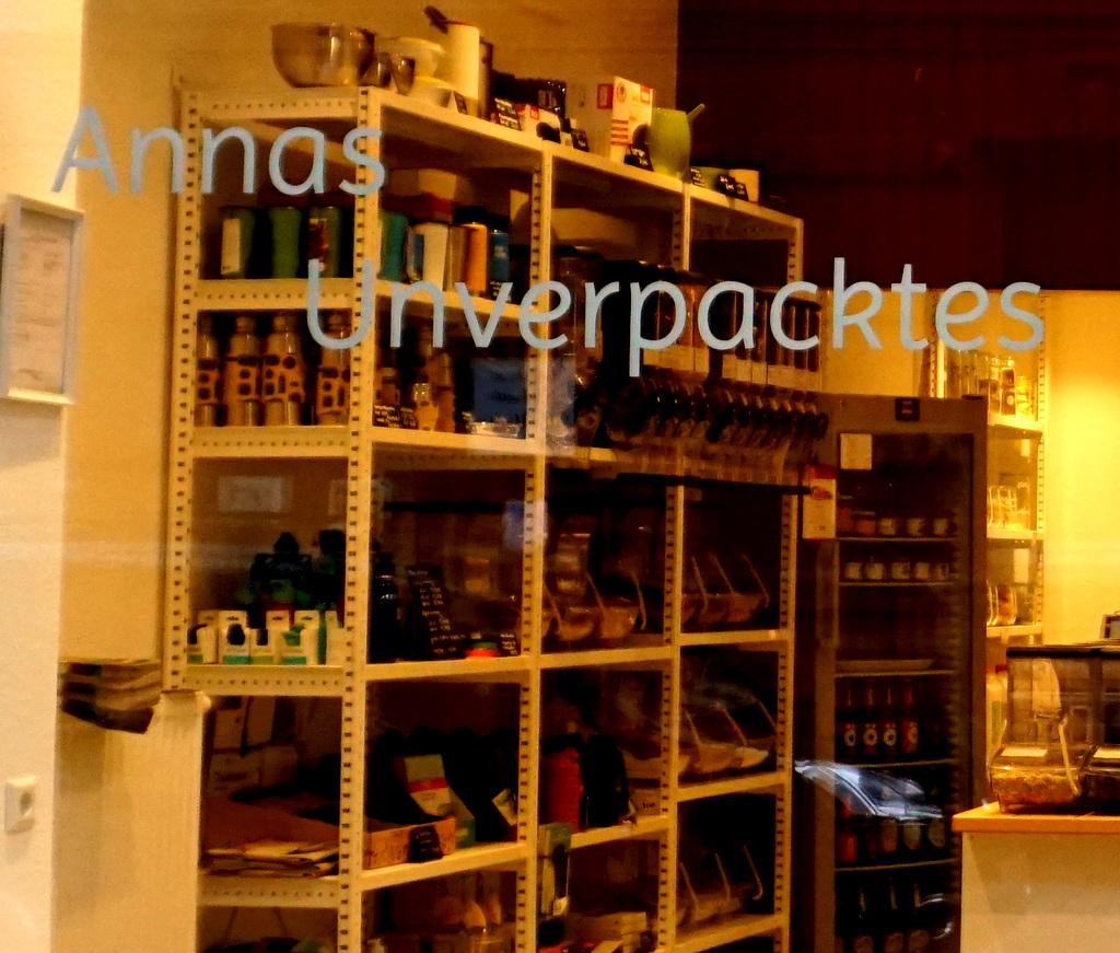 Schaufenster von Annas Unverpacktes