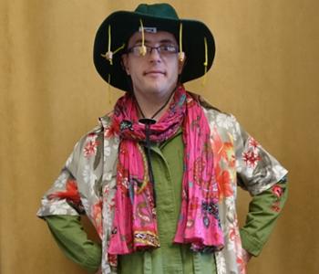 Kostüm: Der bunte Cowboy