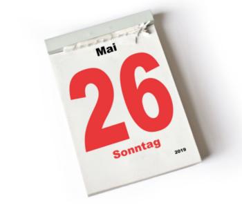 Kalender mit Datum