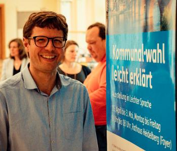 Eröffnung Ausstellung Kommunalwahl leicht erklärt