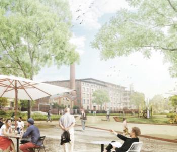 Plan für neuen Stadtteil
