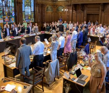 Erste Sitzung vom neuen Gemeinderat