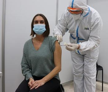 Impfung Frau